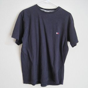 Tommy Hilfiger Navy Blue T Shirt - Size Small